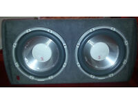 Fli twin active subwoofer amplifier 2400 watts sub box