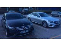 PCO car for hire Mercedes E Class AMG