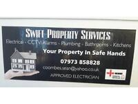 Swift Property Services. NICEIC Approved