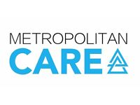 Metropolitan Care Recruitng Care Coordinators, Carers, and Senior Carers Urgently