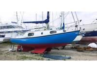 Sailing boat 25ft