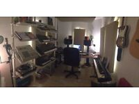 Fantastic music studio share available in Hackney Wick (2mins from station)