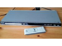 Philips DVD player in good working condition with original remote control