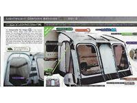 Lightweight Caravan Awning Outdoor Revolution. The compactalite Pro Integra 325.