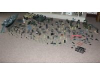 Army Toy Bundle - Plastic Soldiers, Vehicles, Accessories