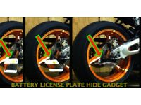 ►► 🔴 007 License Plate Hide Gadget for cars & bikes