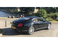 BENTLEY CONTINENTAL GT SPEED 2009 IMMACULATE CONDITION TOP SPEC FULL BENTLEY SERVICE HISTORY TOP CAR