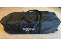 Baby Travel Cot - BabyDan Travel Cot Easy'N'Lite - Excellent Condition