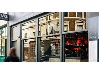 HAPPY WAITING STAFF REQUIRED for VQ RESTAURANT Notting Hill