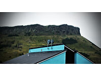 4 min double room from Royal Mile with Arthur's view £130
