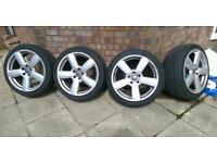 "18"" RS6 Alloy Wheels (Audi, VW, Seat, Skoda)"