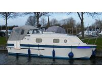 UK Canal /River Cruise. Gentleman needs Lady Crew / Travel Companion to help with the boat.