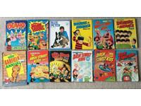 Beano Bash Street Kids Garfield Comic Book Cartoon Annuals