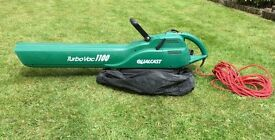 Leaf Blower & Vacuum : Qualcast Turbo Vac 1100