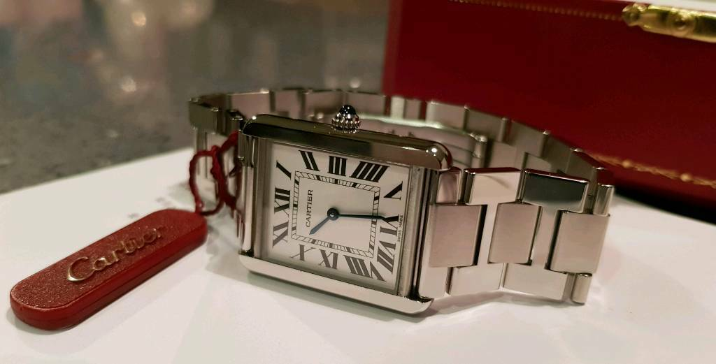 8ab88406b98 Cartier Tank Solo Mens Watch