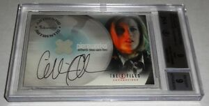 2005-X-Files-Connections-Pieceworks-Show-Worn-Autograph-GILLIAN-ANDERSON-Scully