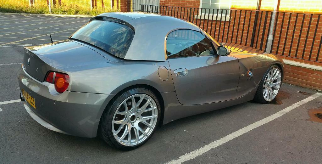 Bmw Z4 E85 Hard Top In Sterling Silver In Colchester