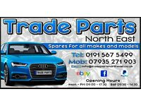 TRADE PARTS NORTH EAST CORSA GOLF ASTRA FOCUS FIESTA OCTAVIA ADAM IBIZA POLO FOX A3 A4 A8 BREAKING