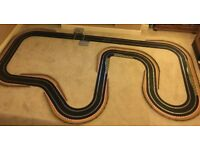 Scalextric Digital Layout with Lap Counter / Chicanes / Half Hairpin & 2 Cars