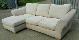 next corner sofa/chaise free delivery