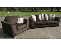 3 + 1 Sofa set from Dfs
