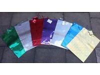 12 x Premium Assorted Holographic Gift Bags - H61cm x W43cm x D23cm - XXL = NEW