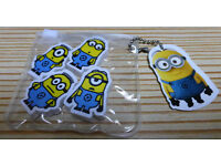 Minions-mini rubbers-pack of 4-new