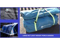 Caravan Awning Revolution Pro 400 Extra Large Porch Awning Light Weight BARGAIN