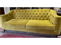 Luxury Olive Green sofa