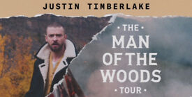 X 2 Justin Timberlake The Man Of The Woods Tour Tickets Manchester 29/08/18!