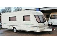 2002 BAILEY SENATOR ARIZONA, 4 BERTH WITH END BATHROOM, AWNING & MOTOR MOVER - NO OFFERS!