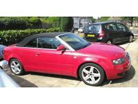 Audi A4 Turbo auto convertible 2004 £1999