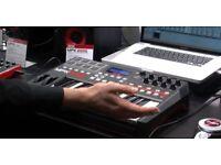 Akai MPK225 MIDI Controller Keyboard Mac pads