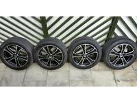 "Ford Fit. 4x ZCT 17"" Alloy wheels and Tyres fit Transit Connect etc"