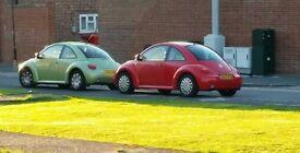 Volkswagen Beetle, 2002, 1.6 petrol.