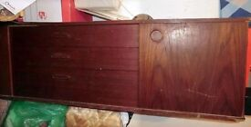 Retro Wooden Sideboard.