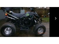 Road legal 150 cc quad