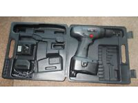 18v Cordless Drill with case