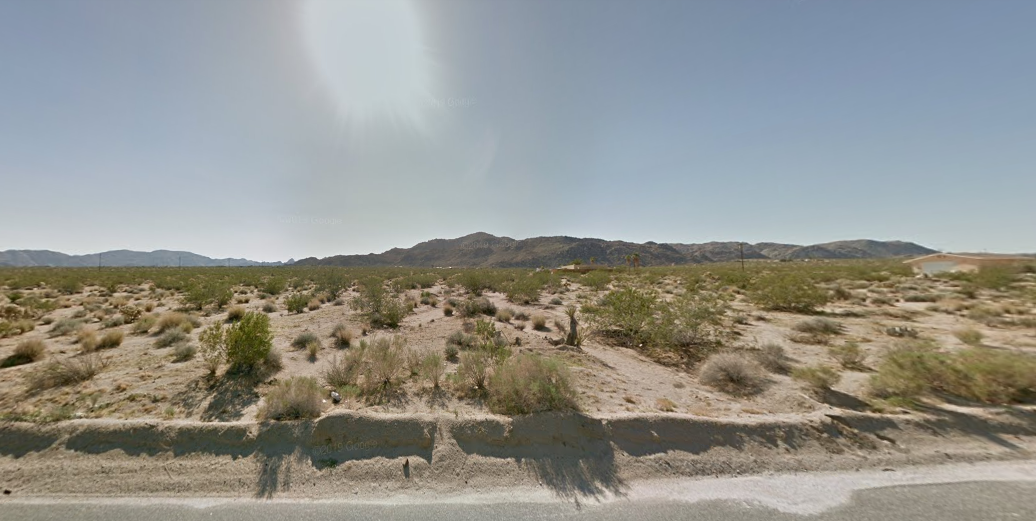 1.25 Acres VACANT LOT Twentynine Palms, San Bernardino County - $2,499.00
