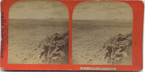 View No.1 of The Modoc War 1872-1873 Series by Louis Hellen, Lava Bed