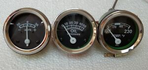Gauge-Set-Temp-Oil-Pr-Ampere-Ford-2N-8N-9N-NAA-600-700-800-900-2000-4000