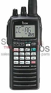 NEW-ICOM-A6-21-AIRBAND-5W-200CH-TRANSCEIVER-RADIO-NOAA-WEATHER-AVOINICS-AVIONICS