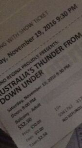 Thunder from Down Under tickets (Strippers)