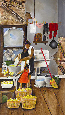 Annie Lee limited Edition Print Got Lemons African American Arts