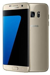 "New Imported Samsung Galaxy S7 Edge Duos Dual 32GB 4GB 5.5"" 4G LTE Gold"