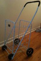 Shopping Cart (Steel frame with Wheels)