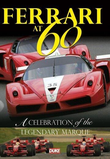 Ferrari at 60 - A Celebration of the Legendary Marque New DVD F1 GP & Supercars