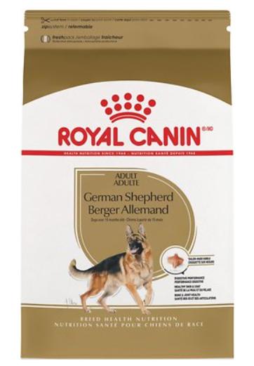 Royal Canin German Shepherd Adult Dry Dog Food, 30 Lbs Bag - $54.99