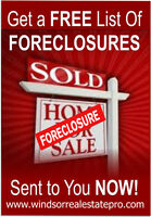 Get a FREE List of Foreclosures Sent to you NOW!