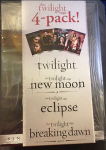 The Twilight Saga - 4 - Pack - New Moon - Eclipse - Breaking Dawn pt 1 - DVD